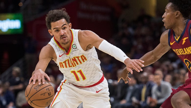 Trae Young Highlights | Rookie drops 35 on Cavaliers in Hawks' win