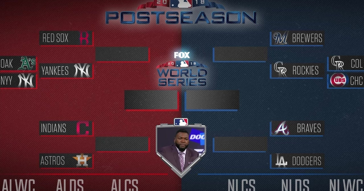 95c301f8a David Ortiz fills out his postseason bracket | FOX Sports