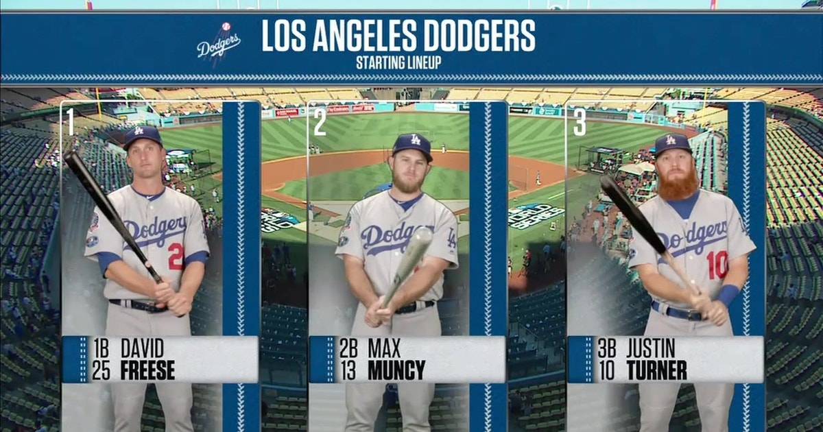 3cb68e783 Ken Rosenthal previews the Dodgers' Game 4 lineup: 'Some might say it's the  lineup we've been waiting for' | FOX Sports