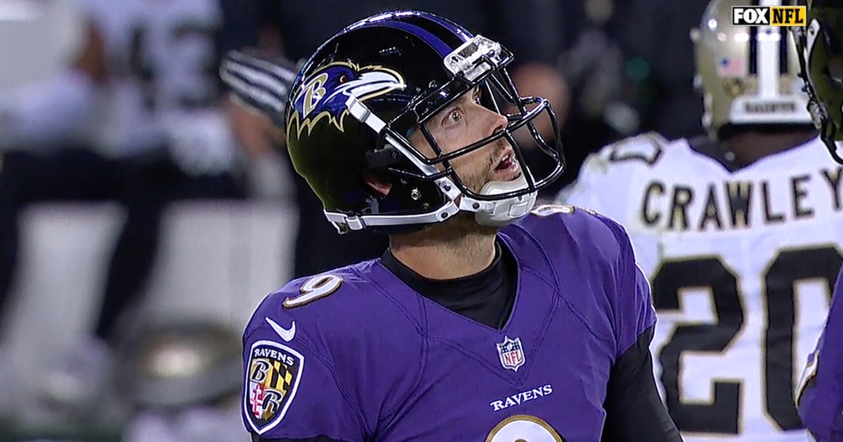 Image result for justin tucker missed extra point