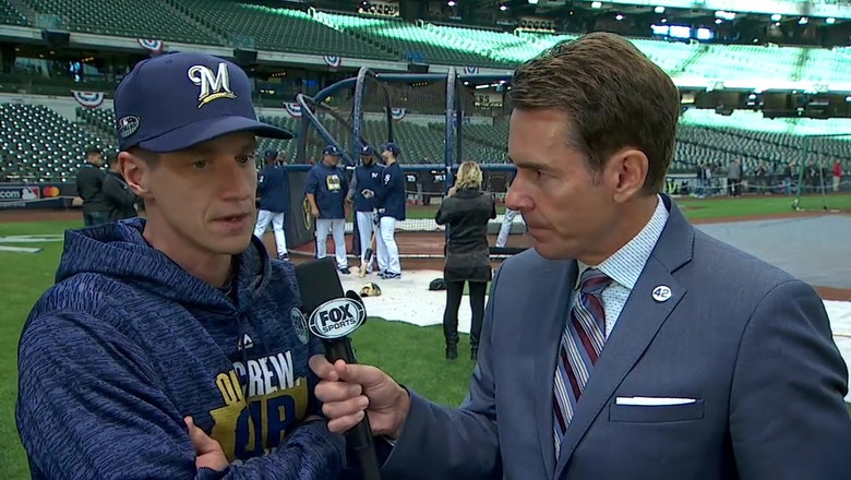 Craig Counsell breaks down the Brewers' bullpen availability ahead of Game 7