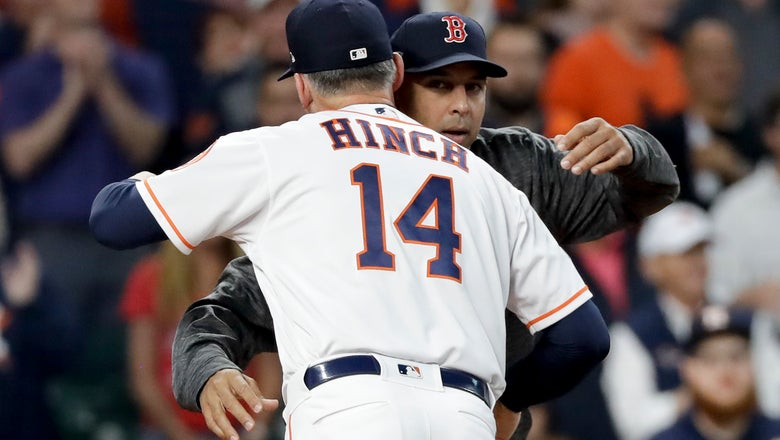 The Latest: MLB wraps up probe of incident involving Astros