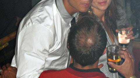 """<p>               In this June 2009 photo made available to the Associated Press on Friday Oct. 5, 2018, soccer star Cristiano Ronaldo is pictured with Kathryn Mayorga in Rain Nightclub in Las Vegas. A lawyer for Mayorga, who is alleging that Ronaldo raped her in Las Vegas in 2009 said her client was """"emotionally fragile"""" and agreed to an out-of-court financial settlement nine years ago because then she never wanted her name made public. Mayorga filed a lawsuit last week in state court seeking to void the agreement she signed while accepting $375,000 to keep quiet about the alleged encounter. (Matrixpictures via AP) NO SALES NO ARCHIVE MANDATORY CREDIT             </p>"""
