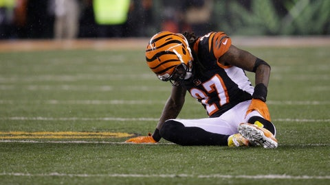 <p>               FILE - In this Jan. 9, 2016, file photo, Cincinnati Bengals cornerback Dre Kirkpatrick (27) is shown during the first half of an NFL wild-card playoff football game against the Pittsburgh Steelers, in Cincinnati. With their first playoff victory since 1990 seemingly secured, the Bengals went into one of the biggest meltdowns in NFL history and lost to the Steelers, ending their 2015 season. It was the start of six straight losses to their AFC North rival, a stretch of futility that they can't avoid as they get ready to meet again. (AP Photo/John Minchillo, File)             </p>