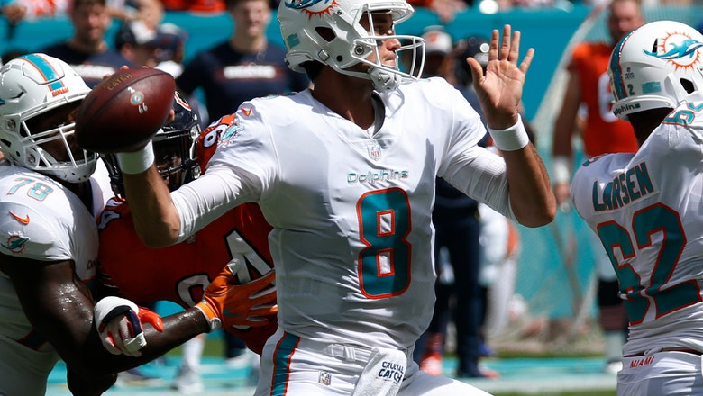 Osweiler comes off bench to lead Miami past Bears, 31-28