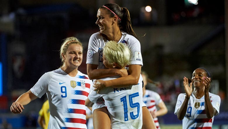 Alex Morgan talks about the USWNT officially qualifying for the 2019 FIFA Women's World Cup