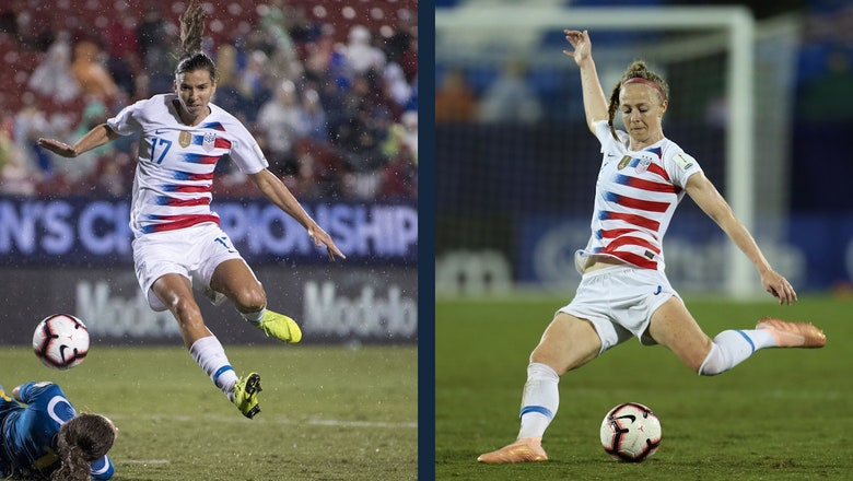 Tobin Heath and Becky Sauerbrunn on qualifying for the 2019 Women's World Cup™