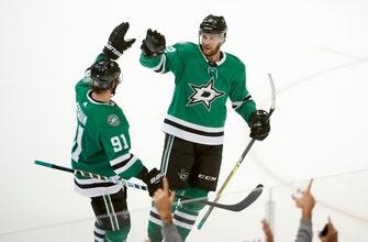 Stars score 4 on 30 shots in 2nd period, beat Ducks 5-3