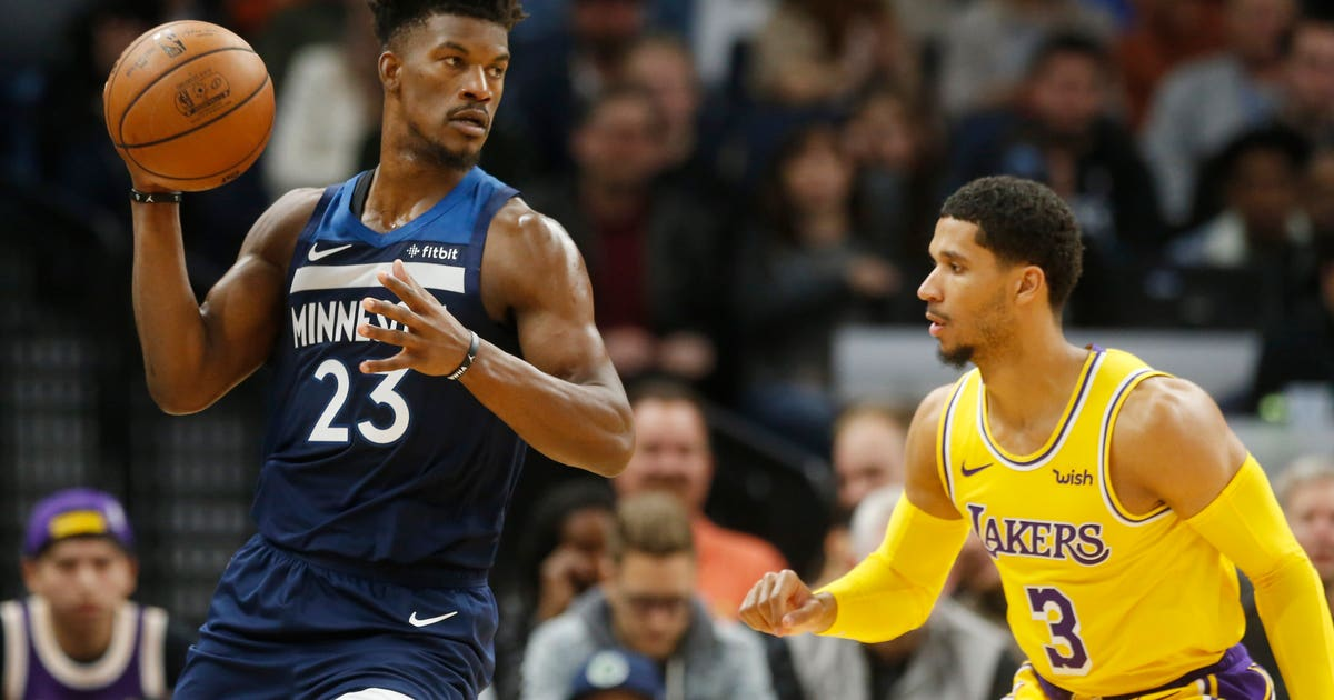 Wolves hold Butler out vs. Jazz for 'precautionary rest'