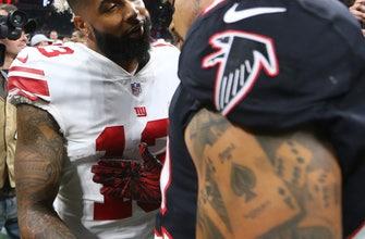 Giants can't fix season-long scoring woes in loss to Falcons