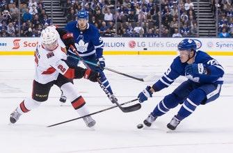 Chabot scores twice, leads Senators past Maple Leafs 5-3
