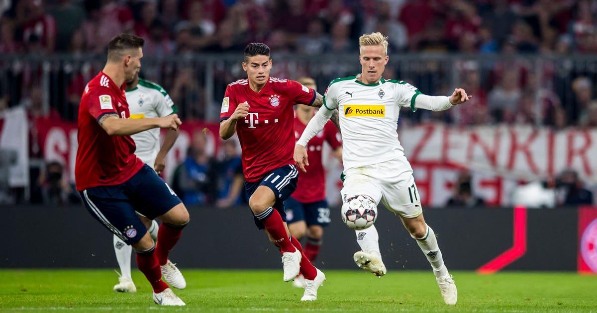 Bayern München Vs Gladbach