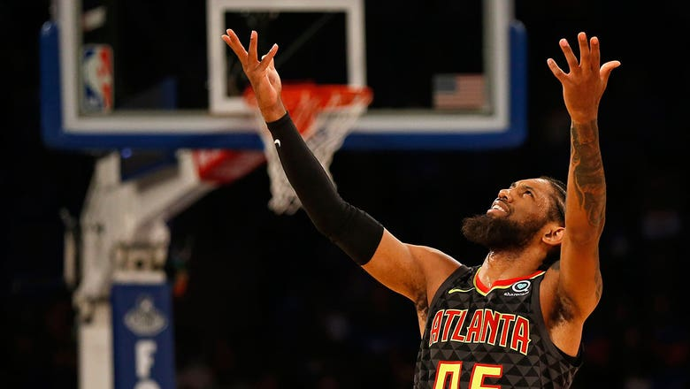 Hawks unable to erase first-half deficit in season-opening loss to Knicks