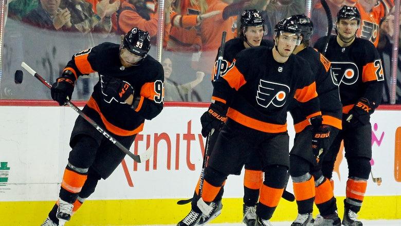 Voracek puts Flyers ahead, defense shines in win over Devils