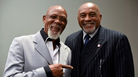 <p>               FILE - In this Sept. 28, 2016, file photo, John Carlos, left, and Tommie Smith pose for a portrait at Georgetown University in Washington. When Smith and Carlos raised their fists 50 years ago at the Mexico City Olympics, they had a captive audience, back in the age when TV was king and the entire audience was rapt. A half-century later, many of the messages our athletes disseminate are every bit as powerful, but the audience is much more distracted. (AP Photo/Sait Serkan Gurbuz, File)             </p>