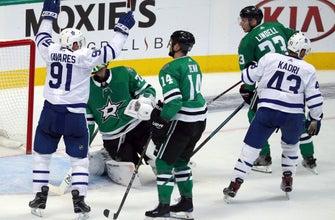 Matthews, Tavares score 2 each, Maple Leafs beat Stars 7-4