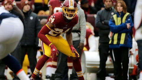 <p>               FILE - In this Dec. 24, 2017, file photo, Washington Redskins cornerback Josh Norman (24) looks across the line of scrimmage during an NFL football game against the Denver Broncos,  in Landover, Md. What a week for Washington Redskins cornerback Josh Norman. A benching during a blowout. Criticism from a former teammate. Barbs from an opposing receiver. And what better way to cap it all off than a matchup Sunday against Cam Newton and the rest of the visiting Carolina Panthers, the club that abruptly parted with Norman two years ago. (AP Photo/Mark Tenally, File)             </p>
