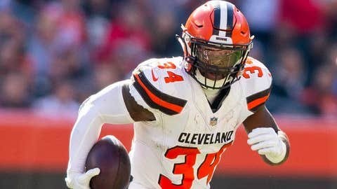 Browns wanted a receiver in return for Carlos Hyde