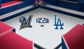 Brewers at Dodgers