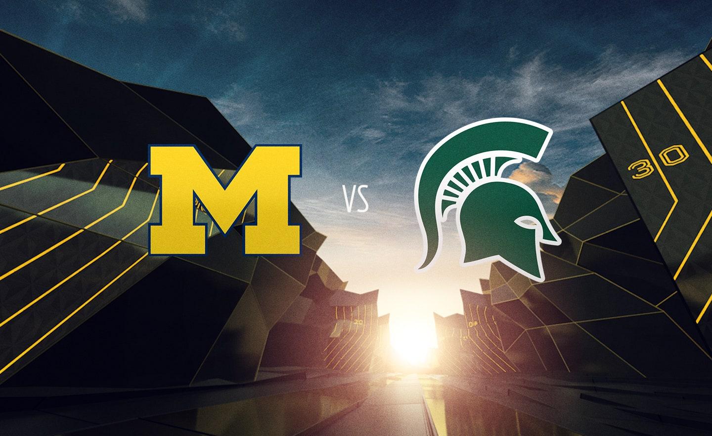 #6 Michigan at #24 Michigan State