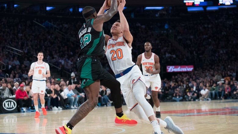 Jayson Tatum scores 24 points, Celtics edge Knicks 103-101