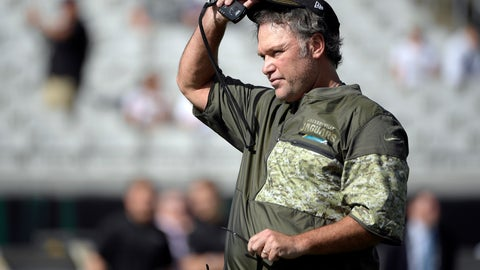 <p>               FILE - In this Nov. 12, 2017, file photo, Jacksonville Jaguars special teams coordinator Joe DeCamillis watches warmups before an NFL football game against the Los Angeles Chargers in Jacksonville, Fla.  The veteran special teams coordinator, now at Jacksonville, reflected on his time in Dallas. It was one eight coaching stops, and most painful,  during a 30-year NFL career. DeCamillis was inside Dallas' 86-foot-tall practice facility that collapsed during a thunderstorm in May 2009 injuring 12.  (AP Photo/Phelan M. Ebenhack, File)             </p>