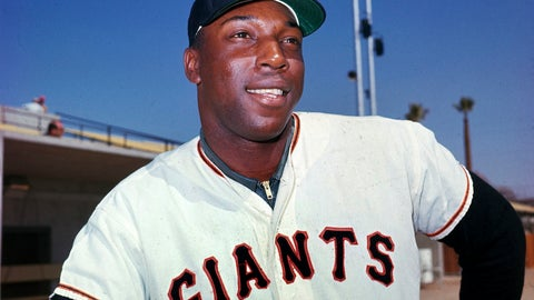 """<p>               FILE - In this April 1964 file photo, San Francisco Giants' Willie McCovey poses for a photo, date and location not known. McCovey, the sweet-swinging Hall of Famer nicknamed """"Stretch"""" for his 6-foot-4 height and those long arms, has died. He was 80.  The San Francisco Giants announced his death, saying the fearsome hitter passed """"peacefully"""" Wednesday afternoon, Oct. 31, 2018, """"after losing his battle with ongoing health issues.""""  (AP Photo, File)             </p>"""