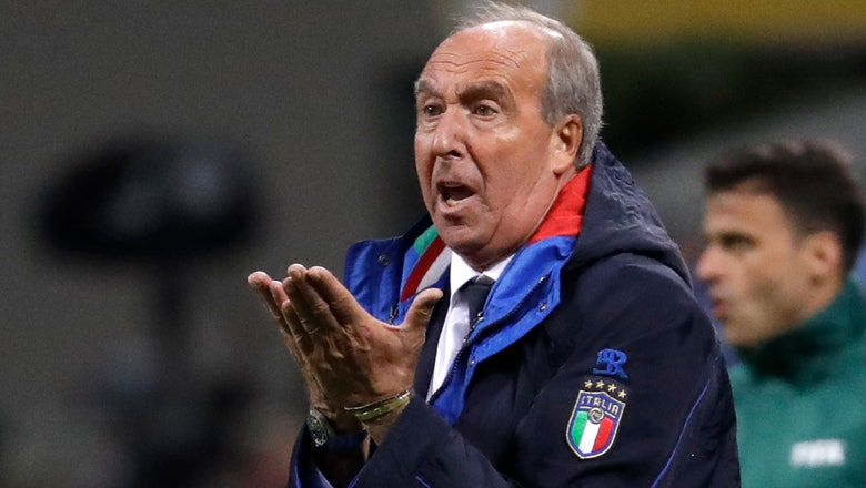 Former Italy coach Ventura hired at last-place Chievo