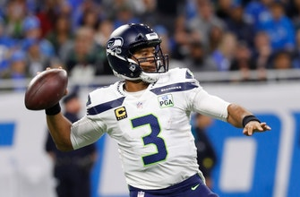 Wilson throws 3 TDs in 2nd quarter, Seahawks top Lions 28-14