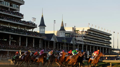 <p>               FILE - In this Nov. 4, 2011, file photo, horses make their way around turn one during the Juvenile Fillies race at the Breeders' Cup horse races at Churchill Downs in Louisville, Ky. There's little argument this year's Breeders' Cup Classic lost a little luster when an ankle issue forced Triple Crown champion Justify into retirement and out of a marquee race that could have raised the profile for both. While the 35th Classic at Churchill Downs features a competitive 14-horse field, the entrants are certainly less familiar than the colt many hoped would at least pursue a grand slam after winning the Kentucky Derby, Preakness and Belmont Stakes this spring. (AP Photo/Matt Slocum, File)             </p>
