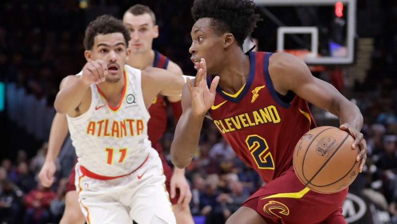Rookie Young scores 35, Hawks rout LeBron-less Cavs 133-111