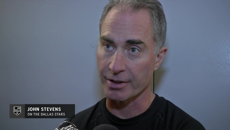 John Stevens: LA Kings are self-reflecting ahead of road trip