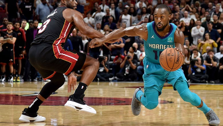 c2f44a1e0 Hornets LIVE To Go  Kemba Walker drops 39 to push Hornets past Heat ...