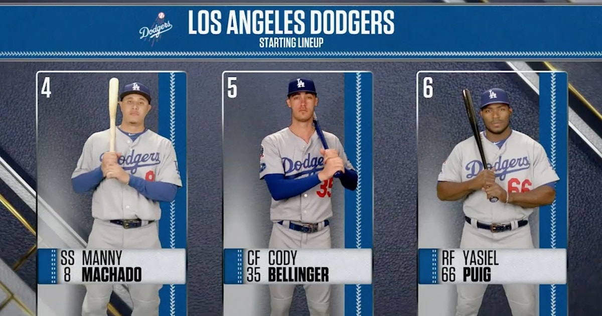 42208cb60 Ken Rosenthal discusses the Dodgers' lineup for Game 3 | FOX Sports