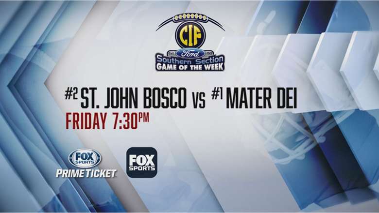 St. John Bosco vs. Mater Dei: Top recruits all over the field Friday night