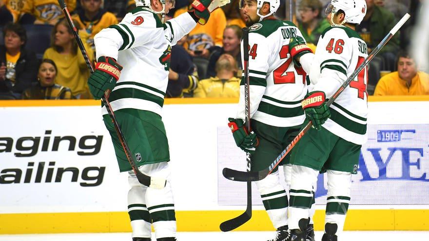 Slow Start Sinks Wild In 4-2 Loss To Predators