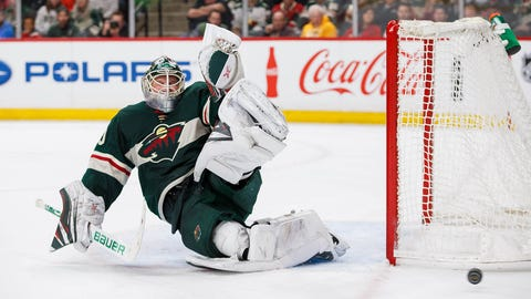 Devan Dubnyk, Wild goalie (↑ UP)