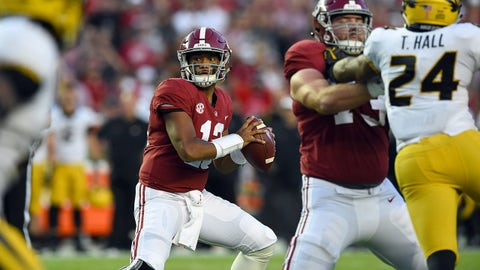 ON THE RISE: Tua Tagovailoa, Alabama QB