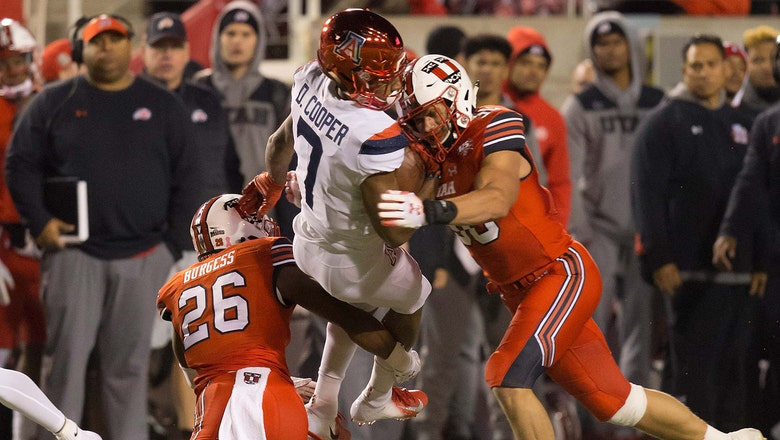 Tate pulled early, Wildcats blown out at Utah