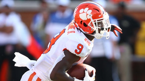 ON THE RISE: Travis Etienne, Clemson RB