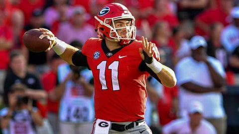 ON THE RISE: Jake Fromm, Georgia QB