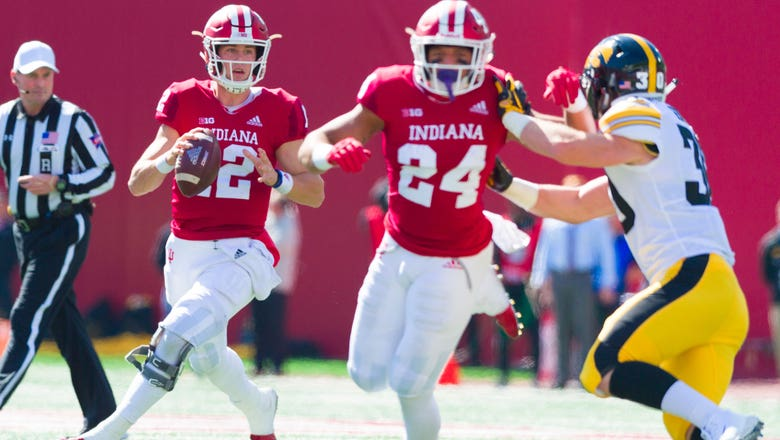 Indiana's secondary torched by Iowa in 42-16 loss