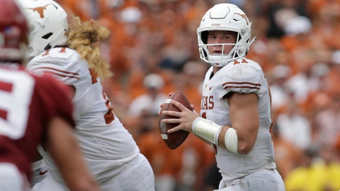 ON THE RISE: Sam Ehlinger, Texas QB