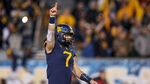 ON THE RISE: Will Grier, West Virginia QB