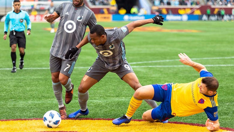 With two goals wiped due to offsides, Minnesota United loses 2-0