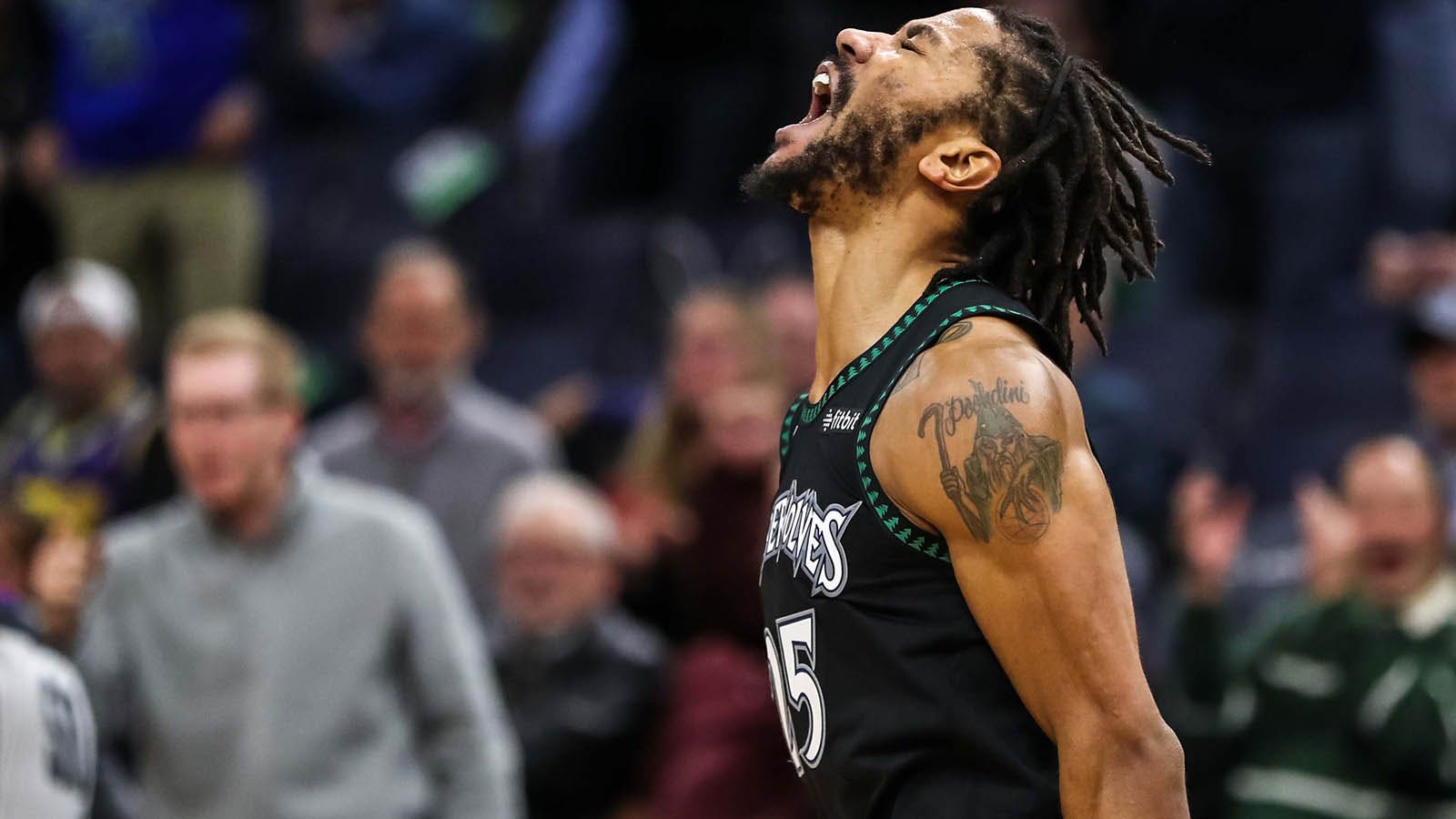 new styles 506a4 b3bf9 Behind Rose's career-high 50 points, Timberwolves top Utah ...
