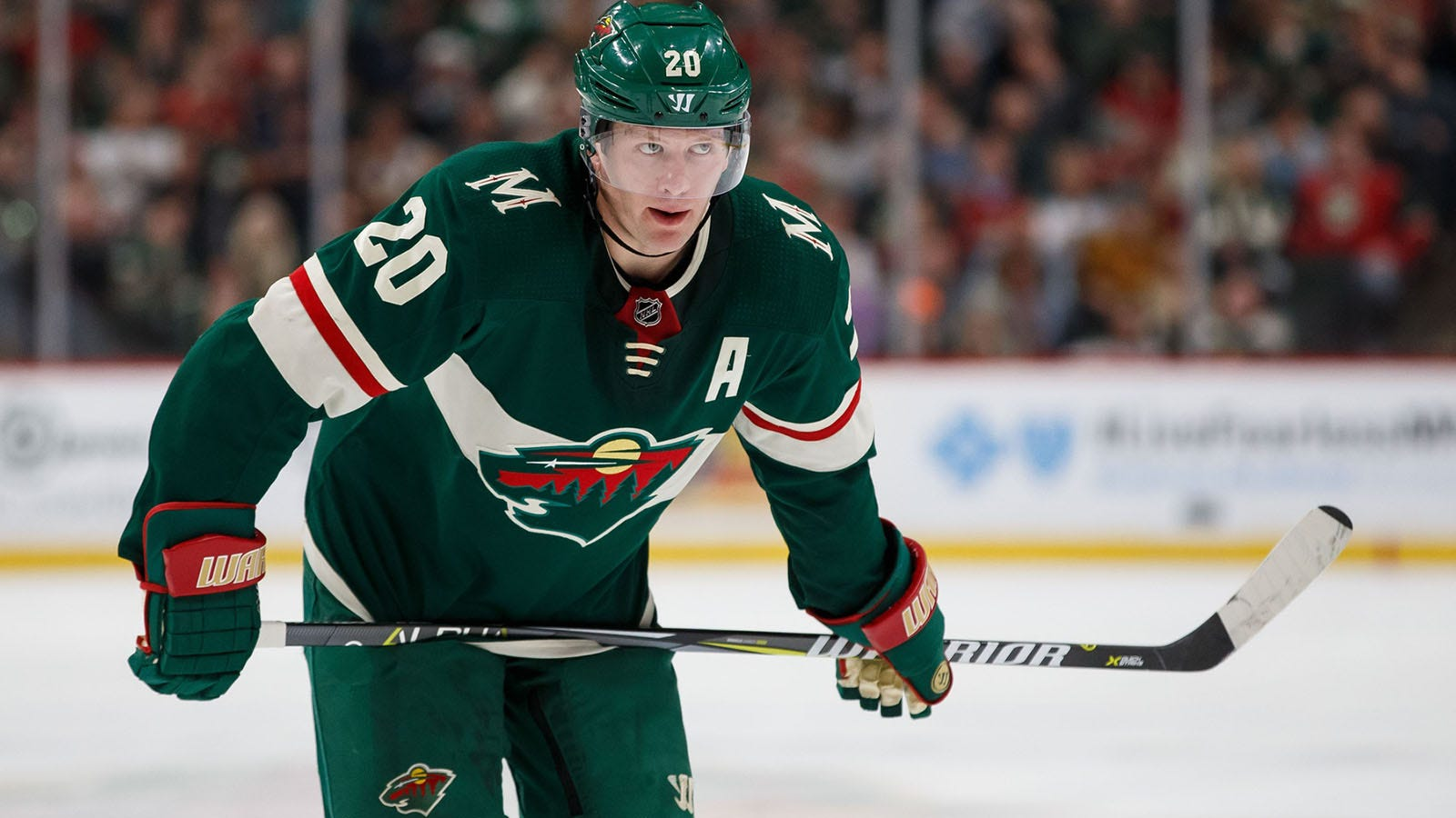 save off 3995d 332a3 Ryan Suter named Minnesota Wild nominee for Masterton Trophy