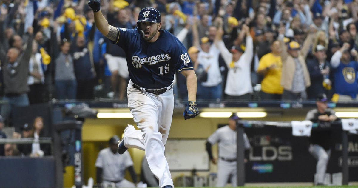 Game 1 Brewers Survive Scare On Moustakas Walk Off