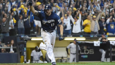 Colorado's bats go mostly quiet in NLDS loss in Milwaukee