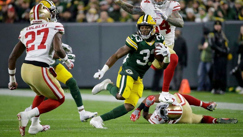 Packers Snap Counts: RB by committee approach continues despite Jones' strong play